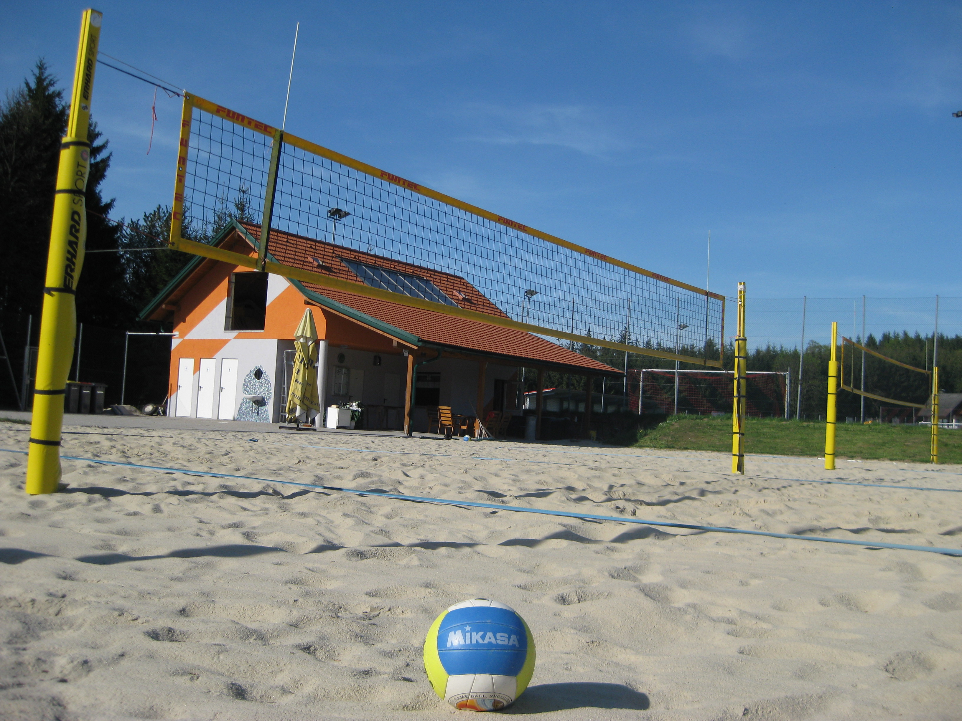 Beachvolleyballanlage in Hofamt Priel