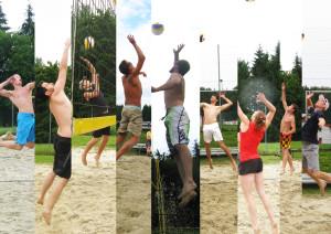 Beachvolleyball spielen in Hofamt Priel