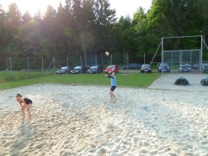 Vereinsinternes Beachturnier
