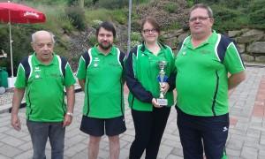 Stockschützen weiterhin auf der Erfolgswelle! 2. Platz beim Pokalturnier in Nöchling!