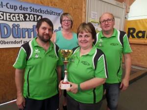 Mixed Mannschaft der Stockschützen feiert nächsten Turniersieg!