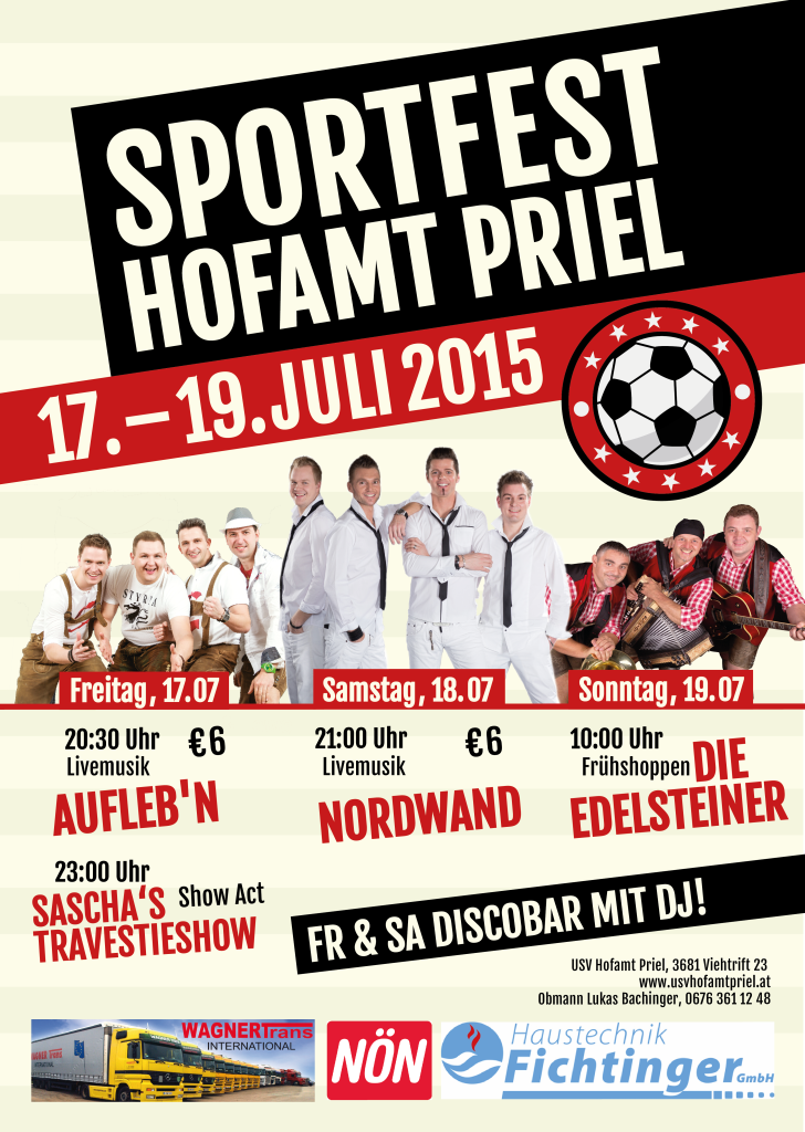 USV Sportfest_Plakat