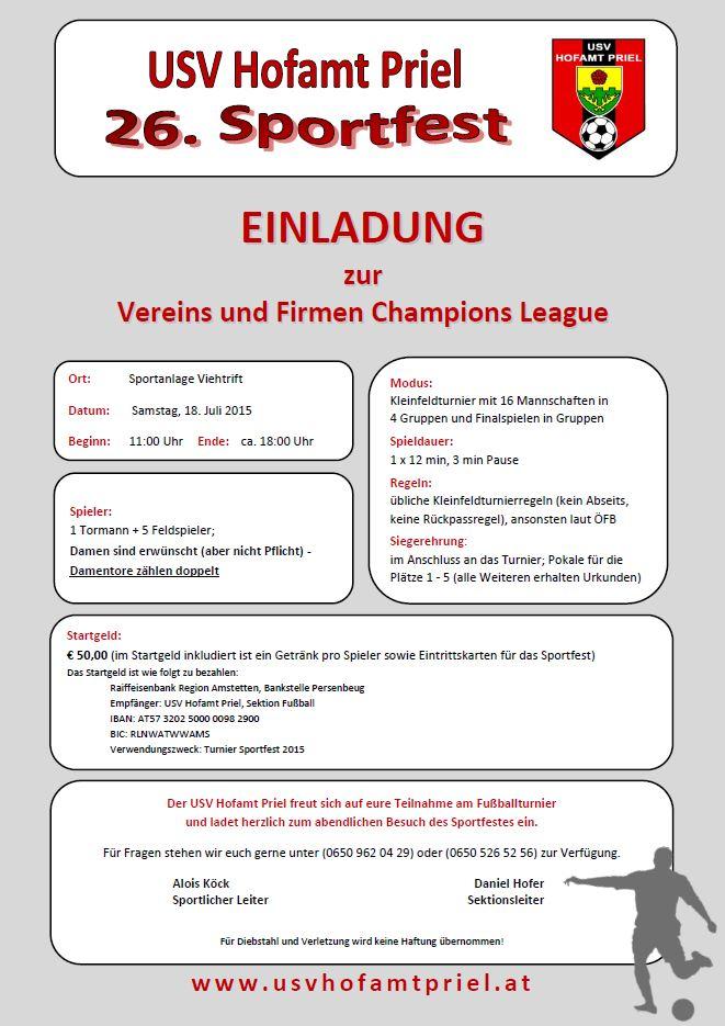 USV Sportfest_Turniereinladung