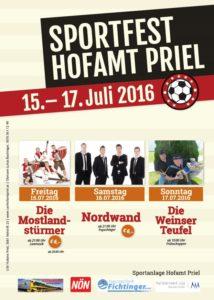 Vorankündigung: Sportfest 2016